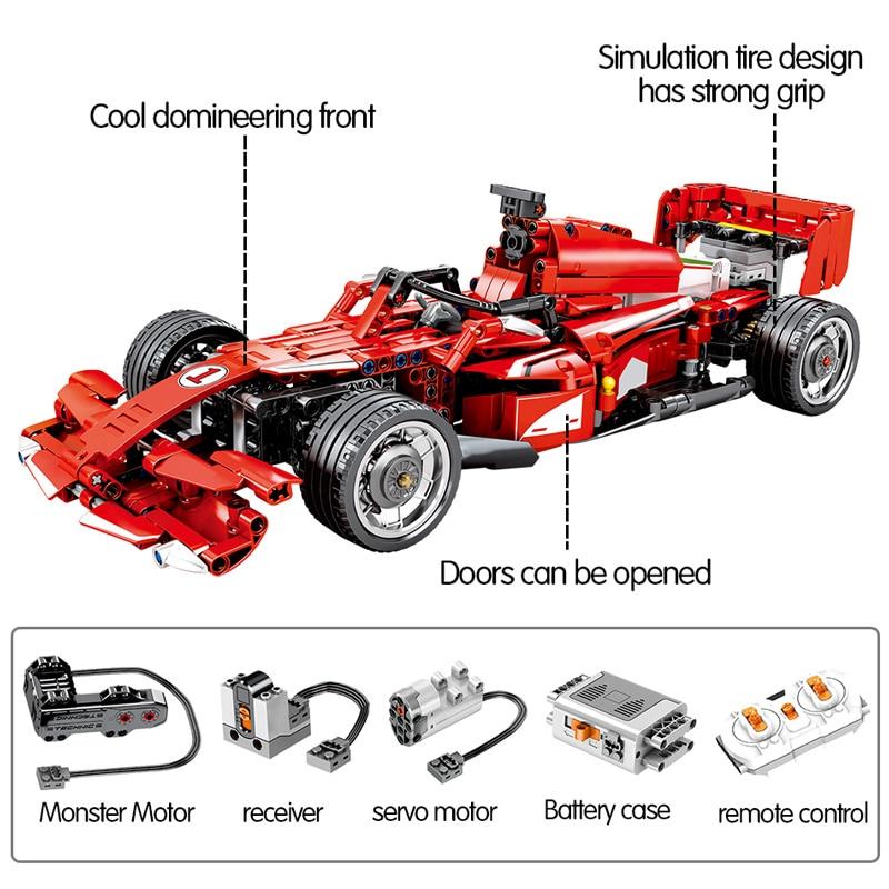SEMBO 701000 Ferrari FRR-F1 Formula Car