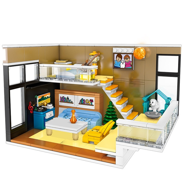 SEMBO 601501 Home decoration: duplex Street View