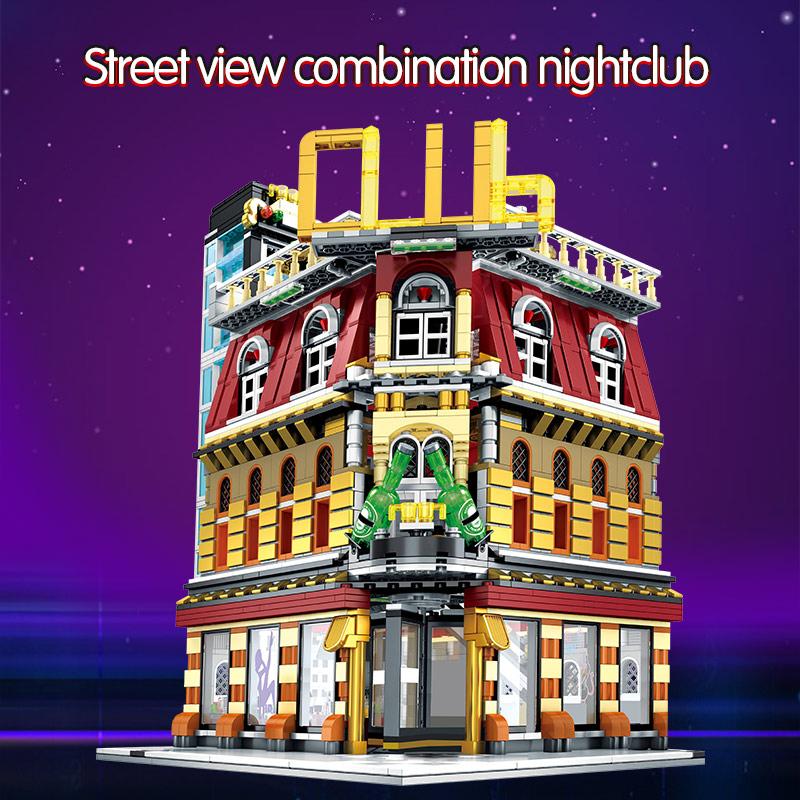 SEMBO SD6991 Neon nightclub Street view