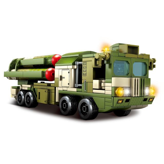 SEMBO 105768 Hongqi-9-Long Range Air Defense Missile Technic
